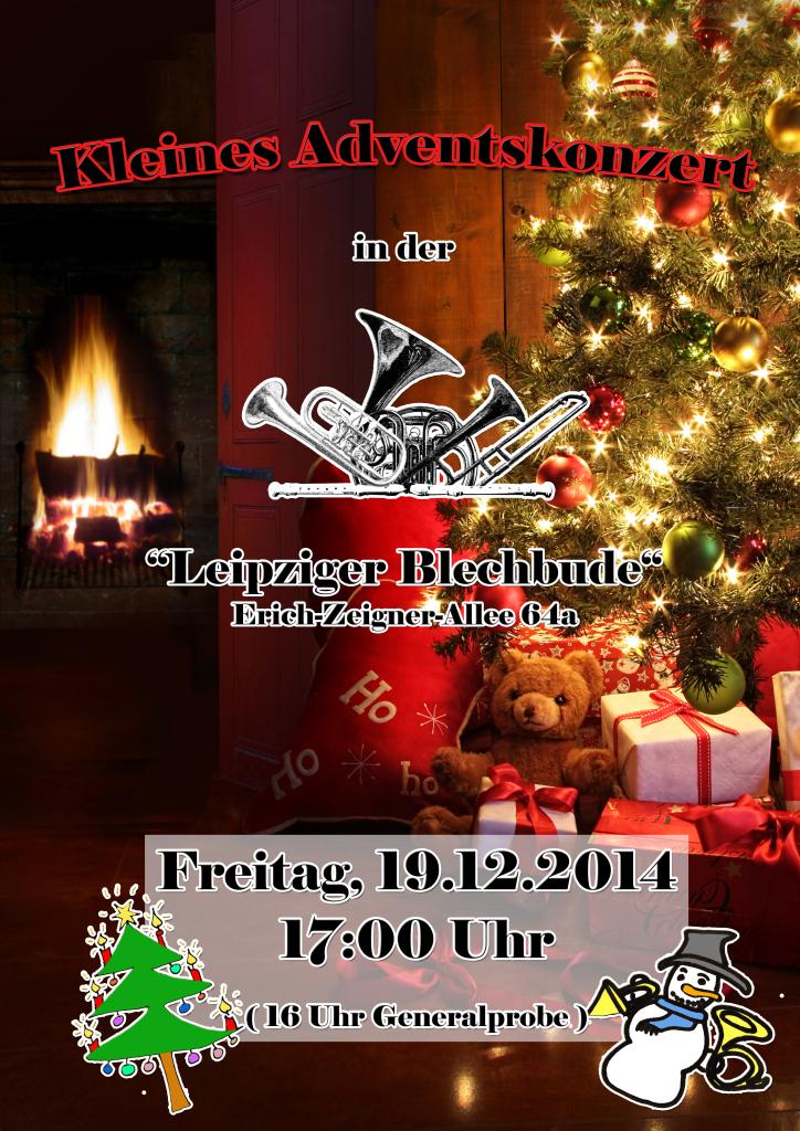 Plakat Weihnachtskonzert 2014