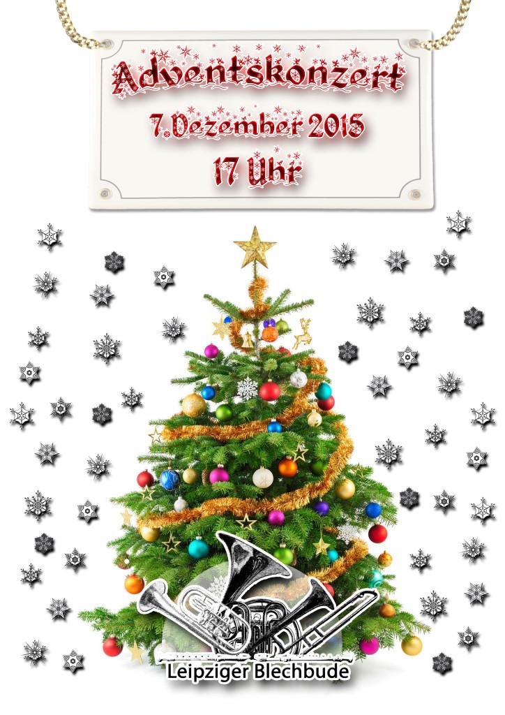 Weihnachtsplakat Blechbude 2015